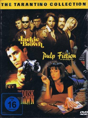 Bild von The Tarantino Collection - Jackie Brown, From Dusk till Dawn, Pulp Fiction