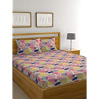 Raymond Home Exclusive Collection Flat Double Bedsheet Set, 220 x 240 cm, 005168-Bf02