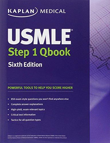 USMLE Step 1 Qbook (Kaplan Medical Books) por Kaplan
