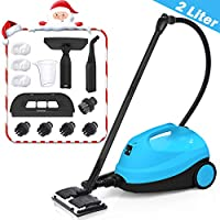 MLMLANT Multipurpose Steam Cleaner, Steam Mops 4.5 Bar 2000W Steamer with 20-Piece Accessories for Floors, Cars, Windows, Carpet, Garment and More(2000ML)