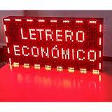 PANTALLA LED PROGRAMABLE LETRERO LED PROGRAMABLE CARTEL LED PROGRAMABLE ROTULO LED PROGRAMABLE (64*32 cm, ROJO) PROGRAMMABLE LED SIGN PROGRAMMABLE LED DISPLAY