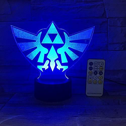 FaceToWind The Legend of Zelda Triángulo 3D USB LED