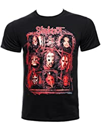 Slipknot Rusty Face T Shirt (Black)