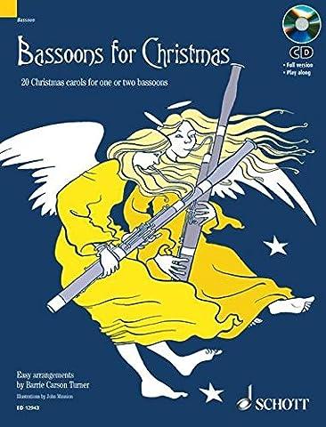 Bassoons for Christmas: 20 Weihnachtslieder. 1-2 Fagotte. Ausgabe mit CD.