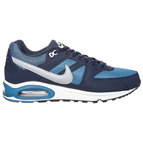 Nike Air Max Command Leather 629993, Herren Low-Top Sneaker Grau