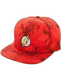 DC Comics The Flash Mono Floral Snapback Baseball-Cap