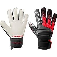 Reusch Prisma RG Finger Support protezione dita guanti da portiere nero  rosso 388b690030cc