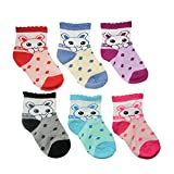 #9: EIO 6 PAIRS BABY BOY/GIRL SOFT TOUCH COTTON RICH SOCKS (FREE DELIVERY)