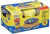 Carioca - Caja con 6 vasos témpera 35 gr. (K73060035)