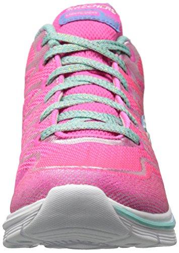 Ndash Neon Sneaker Sognano Bambini Rosa 81463l Aqua Skechers AEvHaqx