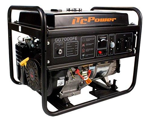 ITCPower, GG7000FE, Generador Eléctrico Gasolina