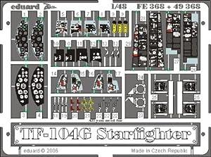Eduard Accessories FE368Modelo Diseño Accesorios TF de 104g Star Fighter para Hasegawa Montar