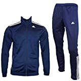 adidas Performance Herren Trainingsanzug blau 48