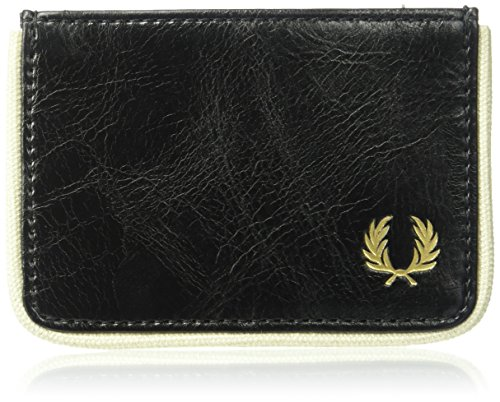 Fred Perry Classic Cardholder Hombre Wallet Negro