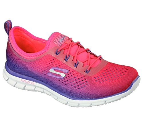 Skechers Glider Fearless, Sneakers basses femme Purple/Pink