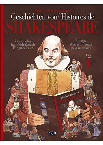Couverture du livre Geschichten von Shakespeare Histoires de Shakespeare: Zweisprachig französisch deutsch Für junge Leser - Bilingue français allemand pour les enfants