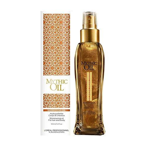 Fantasy-körper-Öl (L'Oreal  Professionnel Mythic Oil Shimmering Oil , 1er Pack (1 x 0.1 l))