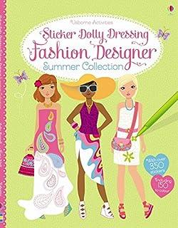 Sticker Dolly Dressing Fashion Designer Paris Collection Amazon Co Uk Fiona Watt Stella Baggott 9781409581840 Books