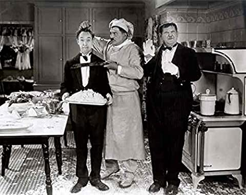 Photo Laurel & Hardy From Soup To Nuts 01 A4 10x8 Poster Print
