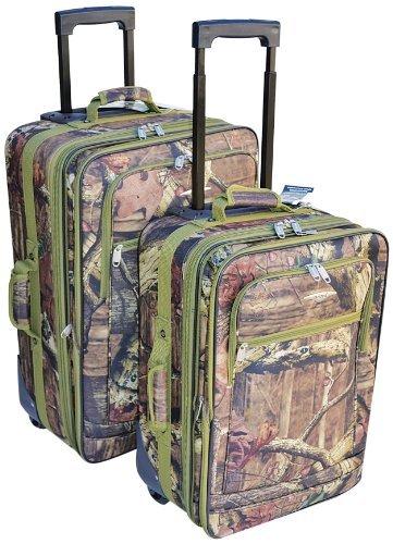 Explorer Luggage Set (2-Piece), 20 x 15 x 11-Inch/24 x 17 x 12-Inch, Mossy Oak by Explorer