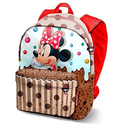 Minnie Maus Muffin-Freetime Rucksack (Kleine) Zainetto per bambini, Marrone