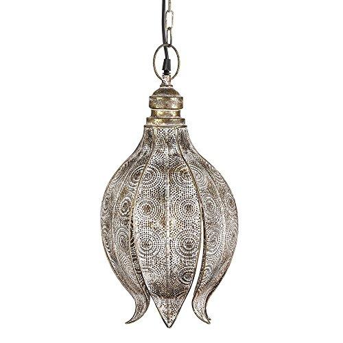 Lámpara de techo de metal dorada moderna para salón Arabia - LOLAhome