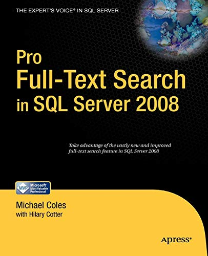Pro Full-Text Search in SQL Server 2008 (Sql 2008)