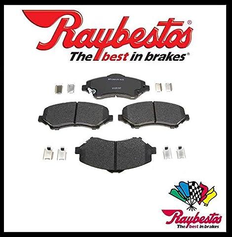 Raybestos Premium Heavy Duty Satz Ceramic Bremsbeläge für vorne ( mit Montagesatz )