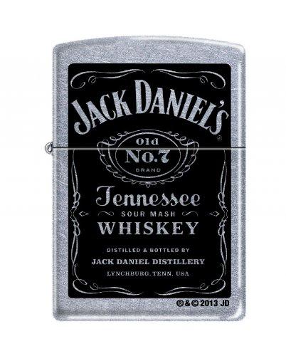 Zippo 1230095 Feuerzeug 207 Jack Daniel's Label -