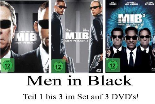 Men in Black 1-3 im Set - Deutsche Originalware [3 DVDs]