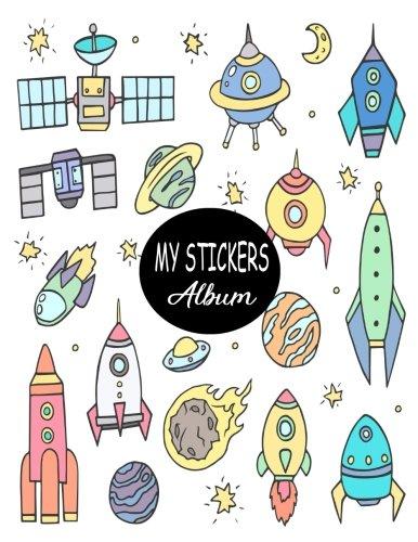 My Stickers Album: Blank Sticker Book Sticker Journal8.5x11 100 Pages: Volume 20 por Ashworth Ava