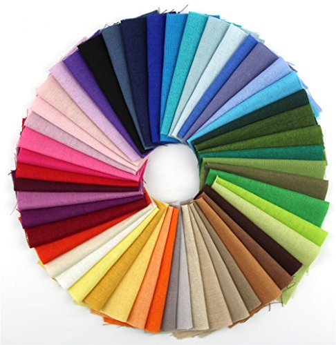 raylinedo-50-different-color-pieces-linen-cotton-fabric-solid-color-bundle-patchwork-squares-of-1010