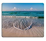 msd Natural Rubber Mousepad Image id: 20485260 Beach and Tropical sea Scene at Gulf of Mexico Florida Side
