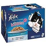 Felix so Gut, Wie es aussieht Kitten Fischauswahl in Jelly mit 0-1 Jahre 12 x 100 g