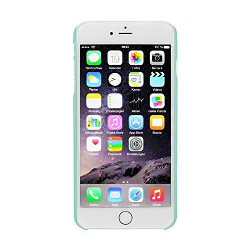 Artwizz 4869-1247 Rubber Clip Etui pour iPhone 6 Clair Türkis