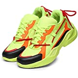 ZARMAN Men's Bouncer-01 Sports Latest Casual Sneakers,Lace up Lightweight Shoes for Running, Walking, Gym