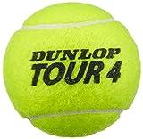 Dunlop Tennisbälle Tour Performance 3er, Gelb, One Size, 602198