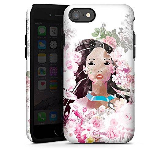 Apple iPhone X Silikon Hülle Case Schutzhülle Disney Pocahontas Geschenke Fanartikel Tough Case glänzend