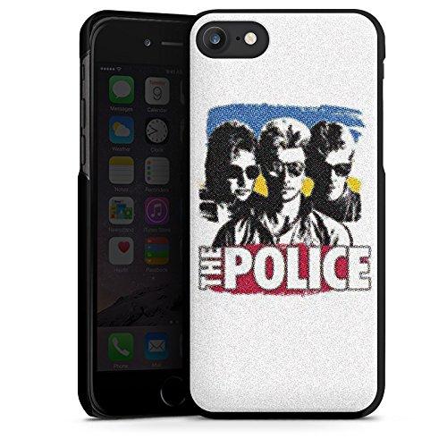 Apple iPhone X Silikon Hülle Case Schutzhülle The Police Fanartikel Merchandise Sting Hard Case schwarz