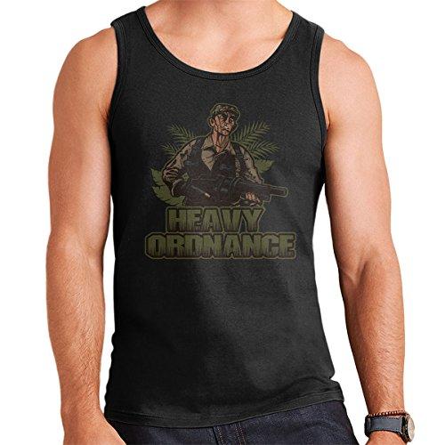 Heavy Ordnance Jorge Poncho Ramirez Predator Men's Vest Black