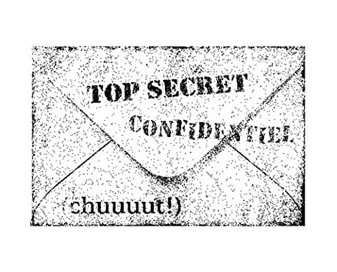 Stempel aus Holz Top Secret 45 x VE =