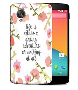 PrintFunny Designer Printed Case For LG Google Nexus5