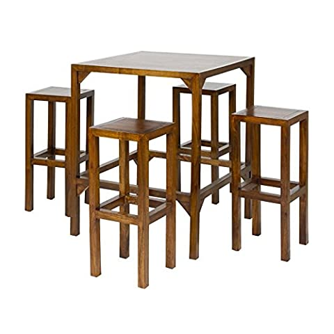 BAR TABLE W/4 STOOL