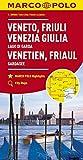 MARCO POLO Karte Italien Blatt 4 Venetien, Friaul, Gardasee 1:200 000 (MARCO POLO Karten 1:200.000) - Collectif