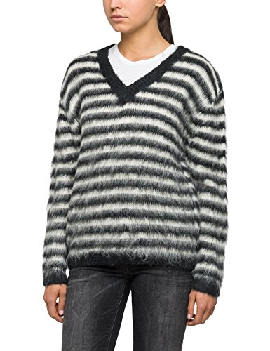 Replay, Pull Femme Gris (Iron With Jaquard 50)