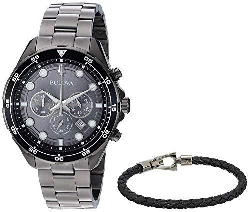 Bulova Armbanduhr 98K104 - Bulova Grau Uhr Herren