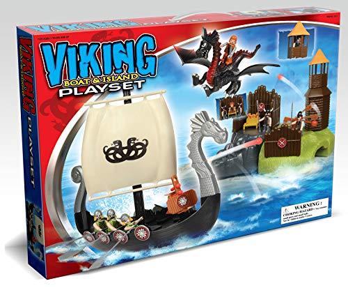 KJ toys Barco Vikingo