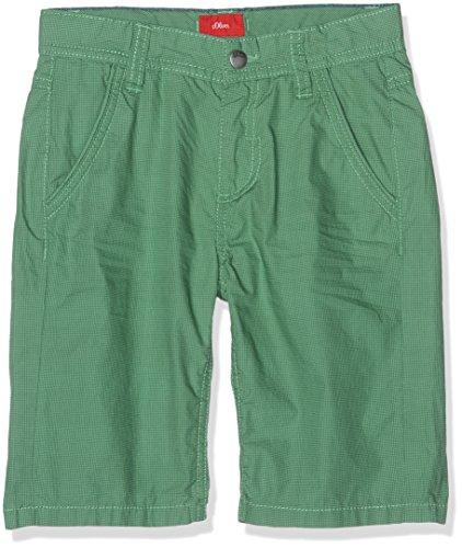 s.Oliver Jungen Shorts 63.705.74.5893, Grün (Green Aop 73A6), 122 (Herstellergröße: 122/REG) (Short Boys)