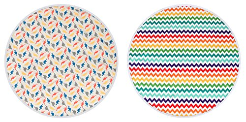 Kenley Baby Highchair Feeding Floor Splash Mat – Round Messy Craft Catch All Cover 51VuqOWr73L