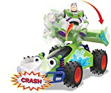 Dickie Toys- Toy Story 4 Buggy Crash Buzz radiocontrol, Multicolor (3155000)